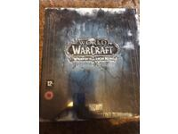 WOW Lich King Collectors Edition Sealed