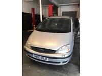 Ford galaxy 1.9 tdi diesel 5 doors hatchback 7 seater family car 2003 03 plate
