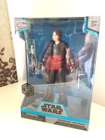 Star Wars Elite Series Die Cast Jyn Erso Figure Brand New