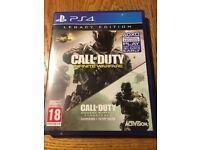 Call Of Duty: Infinite Warfare Legacy Edition PS4 **NO MODERN WARFARE**