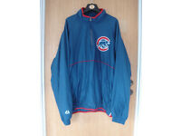 Chicago Cubs Baseball Gamer Jacket, Size Large, Excellent condition, Never worn!