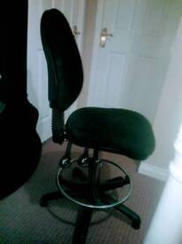 Draughtsman chair . stool seat office