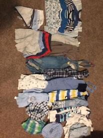 Boys summer clothes. 6-9 months