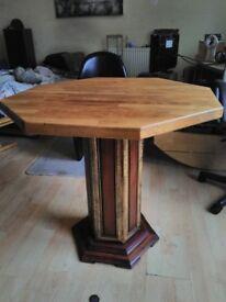 pedistal table