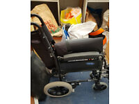 Fold up wheelchair
