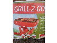 Calor Gas 'Grill-2-Go' Portable BBQ with 5kg Patio Gas Bottle (virtually full)