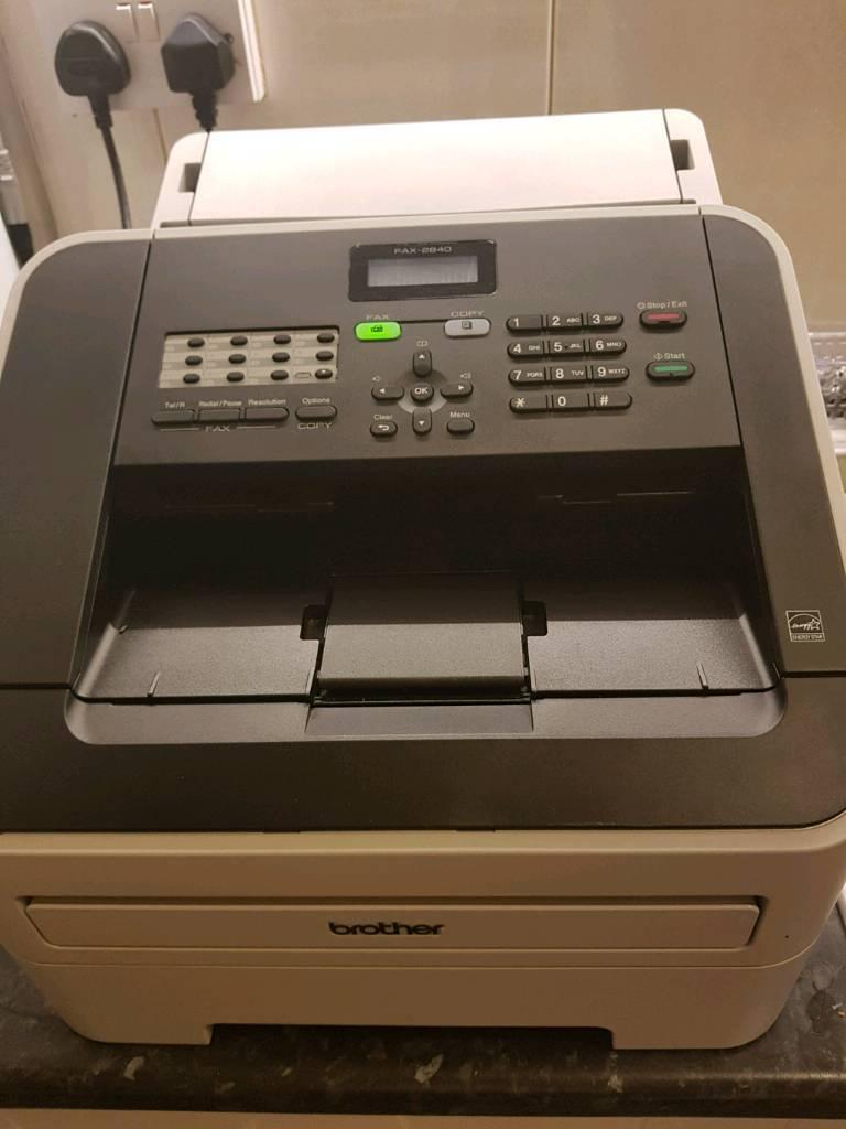 Brother mono laser fax machine