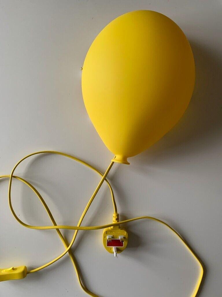Image of: Ikea Dromminge Yellow Balloon Wall Lamp In Richmond London Gumtree