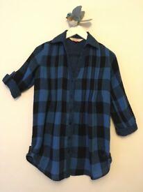 Bundle of 4 tops - Shirt, Sweat shirt, Cardigan & Sweatshirt (please see age)