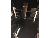 YORK FTS COMBO BENCH BODYMAX 170KG OLYMPIC WEIGHTs BRAND NEW 29mm OLYMPIC POWER BAR & SPRING COLLARS