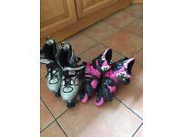 2 pair of roller skates £20 for both or £10'each