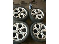 18Inch FORD alloys 5 stud