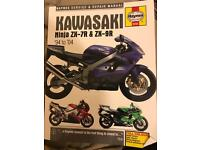 Zx7r and zx9r Haynes manual