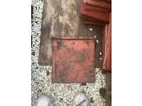 Reclaimed Marley major and reclaimed pan tiles and reclaimed rosemary roof tiles