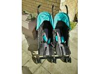 Obaby Apollo twin buggy