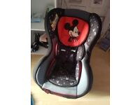 micky mouse carseat