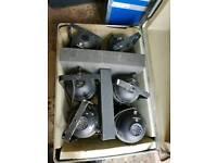 Stage lighting equipment- 6off par64 plus DMX dimmer