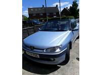 Peugeot 206 2l convertible with 1year mot
