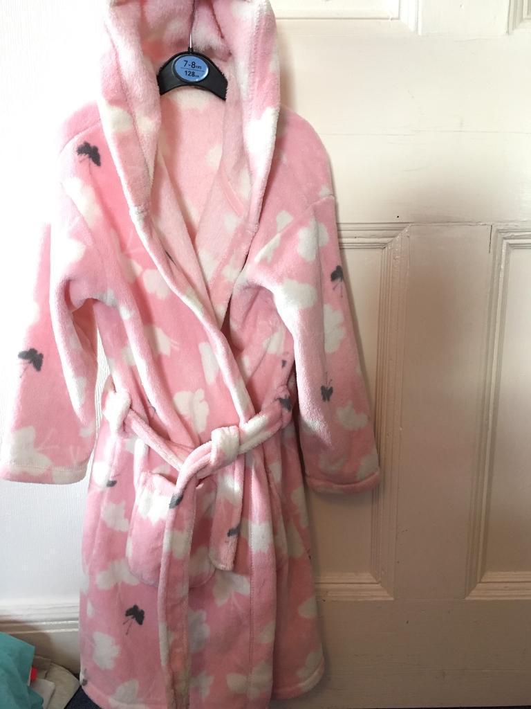 Girls Next 7-8yr dressing gown
