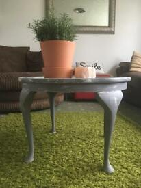 Rustic distressed coffee table/occasional table