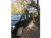 2014 Black Volkswagen Transporter 9 Seat Bus T30 SE 2L TDi BMT - Mint Condition & Low Mileage!