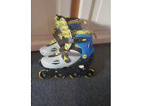 Child's Adjustable Roller Blades size 13 - 3