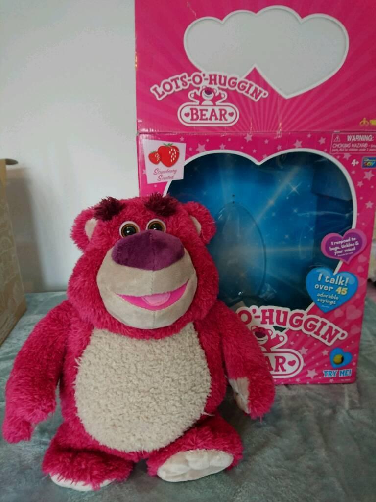 Lots-o-huggin-bear (toy story)