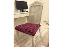 Shabby Chic desk / dressing table chair