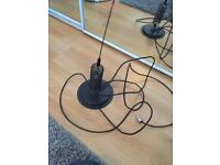 Cb antenna with mag mount 1600H springer