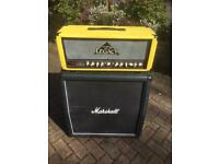 Carvin Legacy VL100 and Marshall 4x12