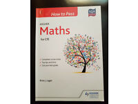 HOW TO PASS (SQA) - Higher Maths Book (Used)
