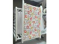 Cot baby changer
