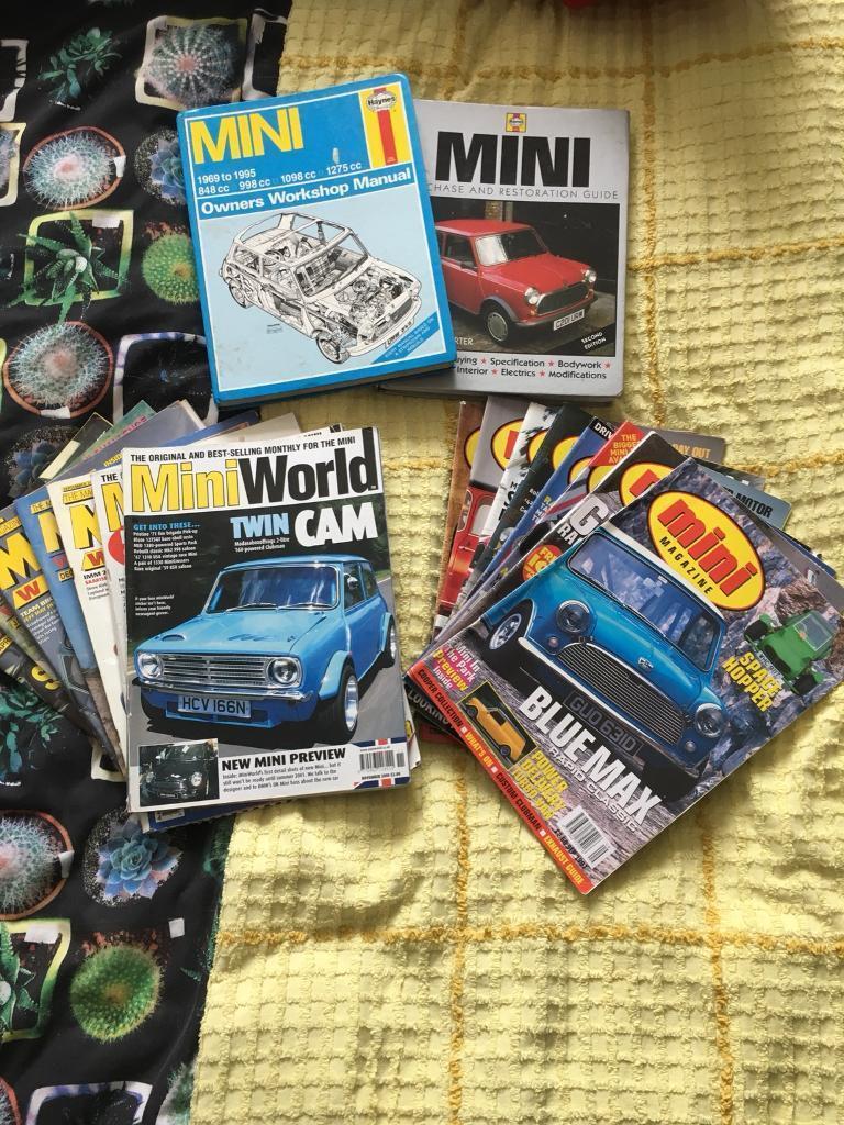 Mini Magazines Restoration manual's Haynes manuals