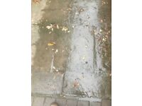 Reclaimed patio slabs...3 sizes, great for that aunthentic flag stone look