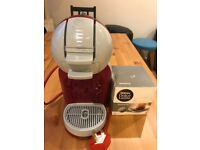 Nescafe Dolce Gusto Krups Coffee Machine with free box of capsules