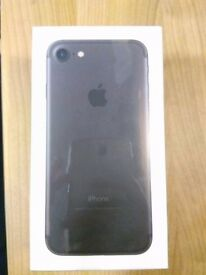 Apple iPhone 7 - 256gb - Matte Black - Sealed/Un-opened