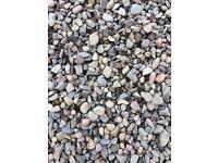 Multimix & 20mm grey stones/chips