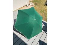 2 x camping shade umbrellas 5 ft new