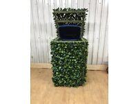 Hidden binshed / wheelie bin storage