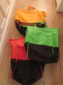 3 x shopping trolley bags
