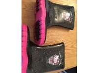 Girls Hello Kitty Welly Boots