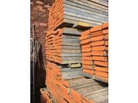 8 foot steel scaffolding batons £12 each