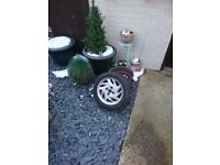 Seicento sporting alloy wheels set of 4