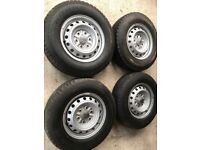 L200 wheels and tyres