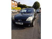 Renault clio dynamique 1.2 great first time car