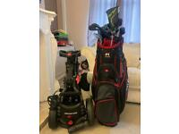 Half set of golf clubs - used handful of times