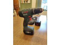 Bosch 18v Combi Drill Driver with 2 batteries