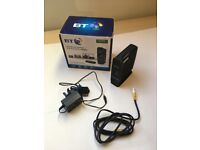 Dual band BT 600 broadband wifi extender with charger, boxed like new, works with all providers