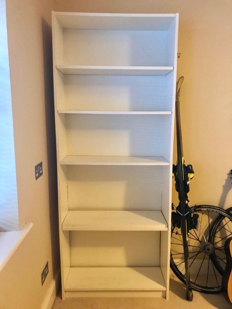 White 6 Shelves/Bookcase