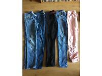 Huge bundle of woman's clothes 8-10